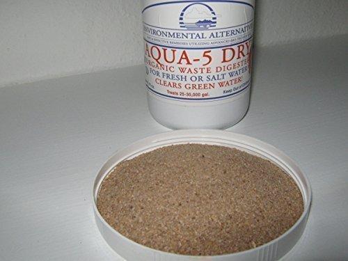Aqua 5 Dry rein biologischer Wasserklärer für 37.500l -