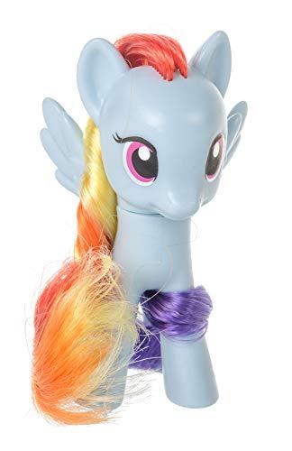 Meine kleinen Ponys My Little Pony Spielfiguren Sammelfiguren Miniatur für Kinder, Mädchen, verschieden Charaktere 8 cm (Blau-Rainbow Dash)