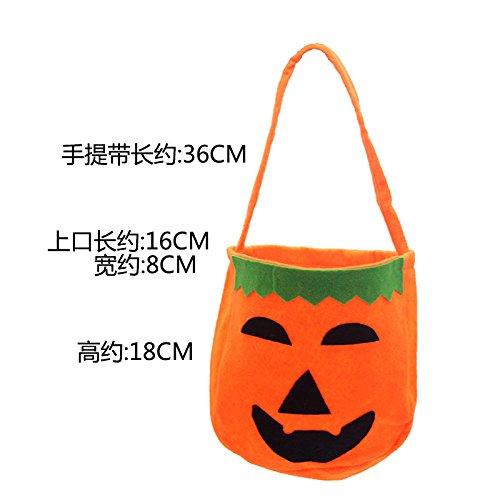 LMQQ-halloween - kürbis - taschen, kinder tragen kürbis - taschen, geschenk - taschen, süßigkeiten, taschen, tuch, taschen, kostüme, requisiten, spielzeug,ein
