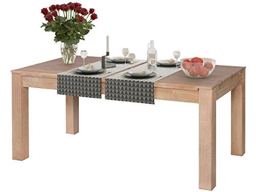 Nodin Esszimmertisch Tisch Holz Küchentisch Möbel 175x95cm Eiche
