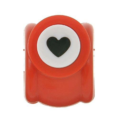 bismarckbeer Handgefertigte Mini-Stempel, Scrapbook, Spielzeug, Druck, DIY, Papier-Werkzeug, 1 Stück, Zufällig, Herz -