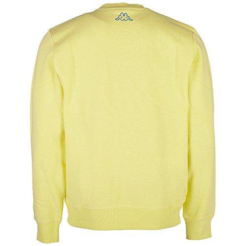 Kappa Herren Atoll Sweatshirt 234 zitrone