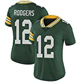 Hhwei Women Basketball Trikot Retro Gym Weste Sport Top Aaron Rodgers #12