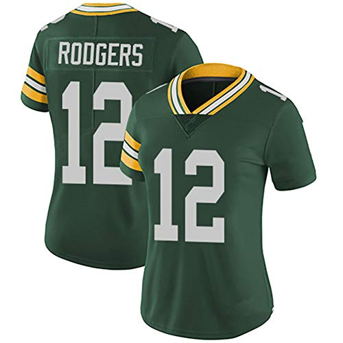 Hhwei Women Basketball Trikot Retro Gym Weste Sport Top Aaron Rodgers #12,S