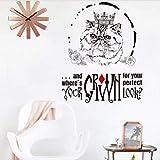 hemeibingqt hemeibingqt Wandaufkleber Katze Wasserdicht Home Decoration Selbstklebend Vinyl DIY PVC 45 * 55cm