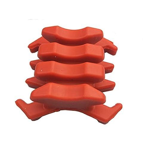 1 paire Chasse Tir à L'arc Arc Stabilisateurs Pour Arc Composé Accessoires (rouge)