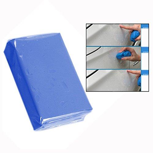 Itian Professionell Auto Reinigungsknete,für Lackreinigungsknete zur Lackpflege und Felgenreinigung für Auto(Blau)