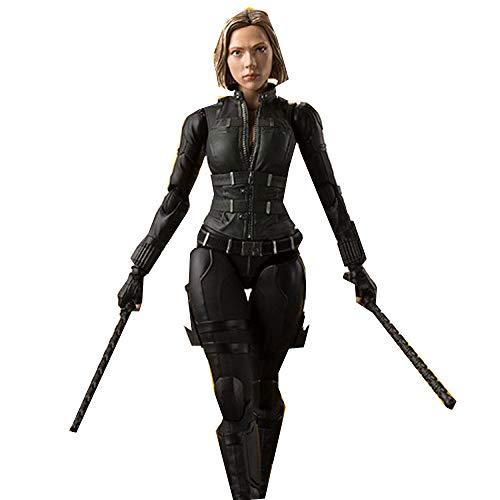 Avengers 3, SHF Black Widow Kann Das Modell, Black Widow, Bewegliche Box, 15cm,Black-15CM