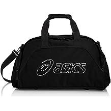 ASICS 110540 - Bolsa de lona de tamaño mediano unisex, color negro, talla única