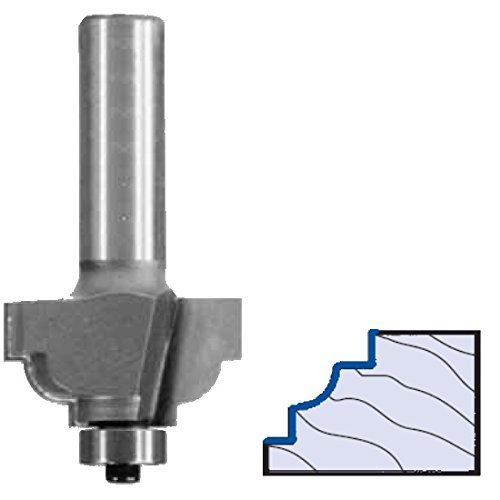 Whiteside Router Bits 3160 Classical Cove Bit with 5/32-Inch Radius, 1-1/4-Inch Large Diameter and 1/2-Inch Cutting Length by Whiteside Router Bits (Router Zoll 1/2 Radius Cove)