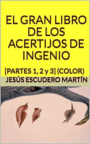 EL GRAN LIBRO DE LOS ACERTIJOS DE INGENIO: [PARTES 1, 2 y 3] (COLOR) por Jesús Escudero Martín