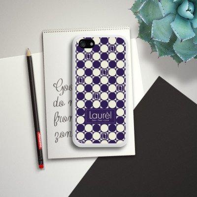 Apple iPhone 4 Housse Étui Silicone Coque Protection Parler de logomanie Laurel Housse en silicone blanc