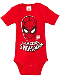 Logoshirt Baby Boys Body Marvel The Amazing Spider Man Mask Romper
