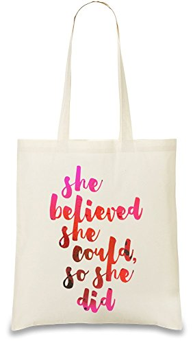 she-believed-she-could-so-she-did-custom-printed-tote-bag-100-soft-cotton-natural-color-eco-friendly