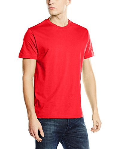 Stedman Apparel Herren Regular Fit T-Shirt scharlachrot