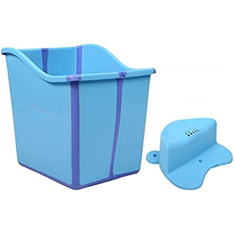 YUGANG Vasca da bagno per bambini Vasca da bagno creativa pieghevole Vasca da bagno neonato vaschetta per il bagno vaschetta per il bagno può sedere ( colore : 1# )
