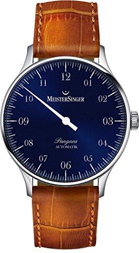 MeisterSinger Uhren Herrenuhr Einzeigeruhr Pangaea 1Z PM908