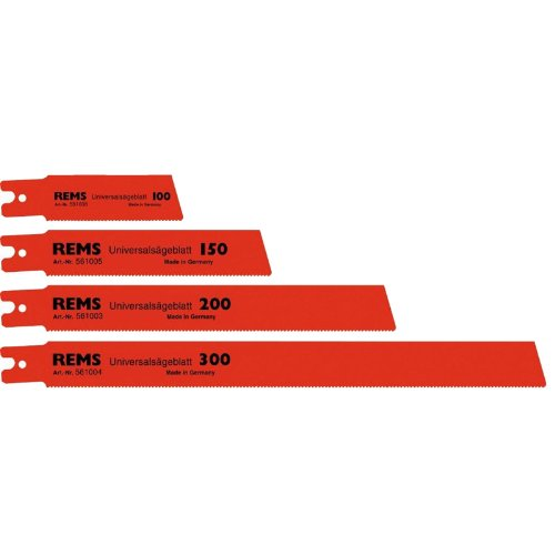 Rems 561003 – Lame scie universelle 200 mm (5U)