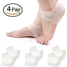 Fersensporn Bandage Fersensocke Fersenschutz aus Silikon-Gel bei Schwellung Schmerzen atmungsaktiv