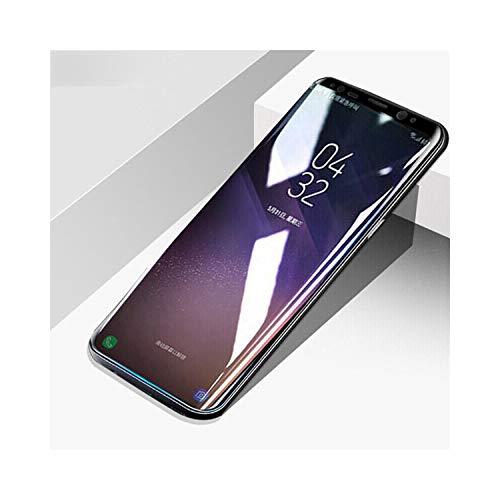 Vikimen Ausgeglichenes Glas-Film, Schirm-Schutz,Full Cover Curved Screen Protector PET Soft Film for Galaxy Note8 S8 S9 Plus S6 Edge & Plus S7 Edge Protective Soft Film for S7