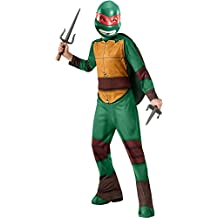 Tortugas Ninja - Disfraz de Raphael, para niños, talla L (Rubie's 886757-L)