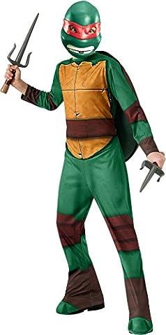 Teenage Mutant Ninja Turtles Enfants Costume - Déguisement de Raphael des Tortues Ninja classique