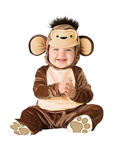 In Character Costumes 16002 6-12M - Disfraz de mono para bebé niño, talla 6 - 12 meses