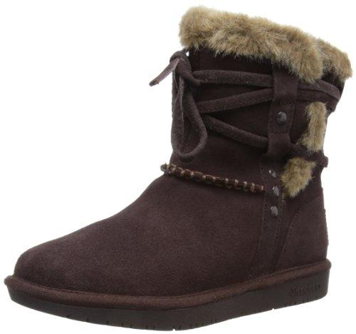 Skechers Shelbys, Boots femme Marron (Chocolat)