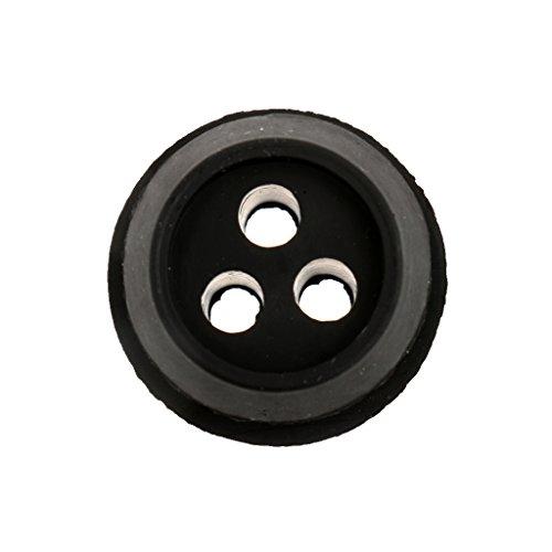 Preisvergleich Produktbild MagiDeal 3-Loch Schwarz Kraftstoffleitung Gummitülle Durchgangstüllen Ersetzen Für Trimmer ECHO V137000030 13211546730