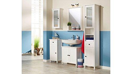 Waschbeckenunterschrank Sylt, Landhaus, (65 cm breit) - 5