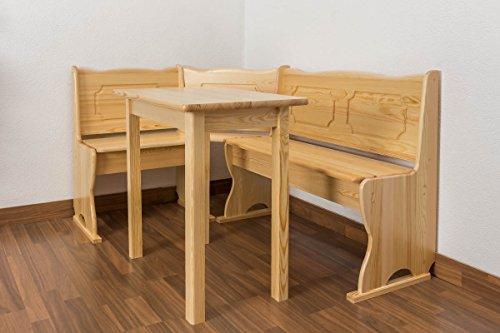 Eckbank Holz massiv