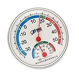 SM SunniMix Thermometer Hygrometer Wecker Thermo Hygrometer, Geschenkidee, für Zuhause, Büro, Reisen und Schule