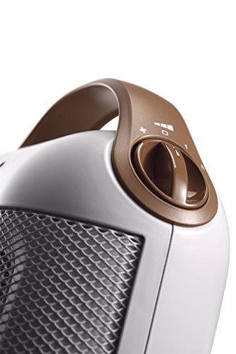411IPsobADL - De'Longhi Capsule HFX30C18.IW Ceramic Fan Heater - White