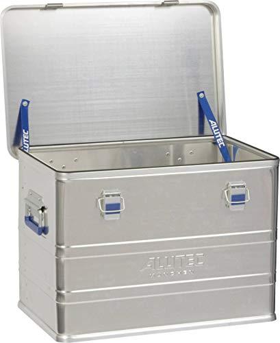 Alutec Transportkiste Comfort 73 - Aluminium Box 73 Liter mit Deckel verschließbar Electronic Box Deckel