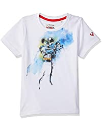 Allen Solly Boy's Plain Regular fit T-Shirt