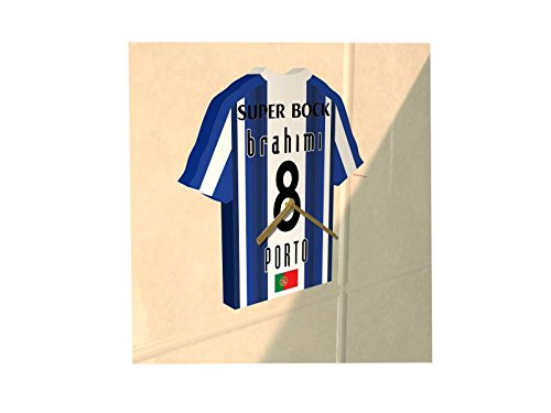 MyShirt123 FC Porto FC Football Club–Fußball Shirt Uhr–Name & jeder Zahl–Sie wählen.