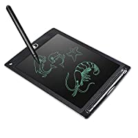 Kids LCD writing tablet, 8.5 Inch kids doodle board boogie board electronic paperless writing & drawing board one button erase amazing product for kids learning and developing skills
