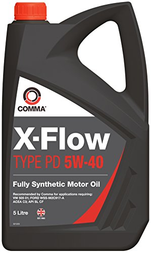Comma XFPD5L X-Flow Type PD 5W-40 Synthetisches Motoröl 5L (Synthetisches Motoröl 5 Liter)
