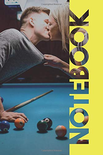 Notebook: Pool Table Petite Composition Book for Billiard Balls Fans por Molly Elodie Rose