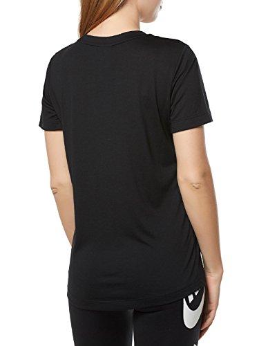 Nike Maglietta Hbr Nsw W Donna Tee Essntl Nero P6xw8pqP