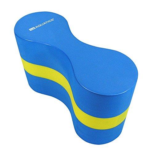 Aquatics Schwimmtrainer Aqua Pull Buoy, Blau/Gelb, 49037