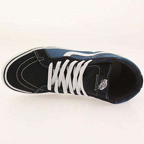 Vans Sk8-hi Lite Plus, Sneakers Hautes mixte adulte Bleu (Suede/Canvas/Navy/White)