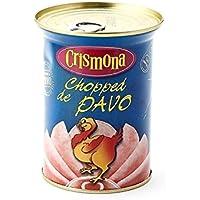 Chopped de Pavo Crismona Lata Abre Fácil 400 g [Pack 2 ud x 400 g]
