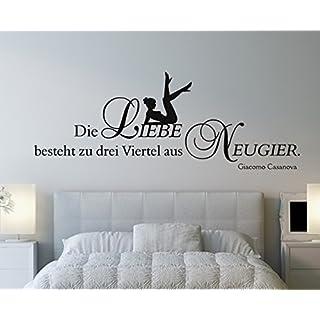 arslinea Wandtattoo - Liebe Neugier, 200x80 cm, hellgrün