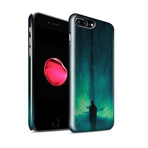Offiziell Chris Cold Hülle / Glanz Snap-On Case für Apple iPhone 7 Plus / Pack 10pcs Muster / Dunkle Kunst Dämon Kollektion Bösen Herzens