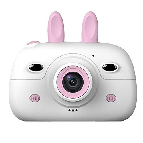 Inciple Kinder Digitalkameras 2,4-Zoll-IPS-Bildschirm 8MP Video Digitalkamera Kleine Spiegelreflexkamera Spaß Cartoon Foto Aufkleber Kamera Anti-Drop-Design