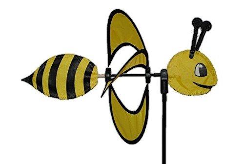 Preisvergleich Produktbild Windrad Biene gelb 90 cm schwarz - Bee - Tier Tiere Windräder Windspiel Außen