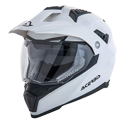 Acerbis casco flip fs-606 bianco x