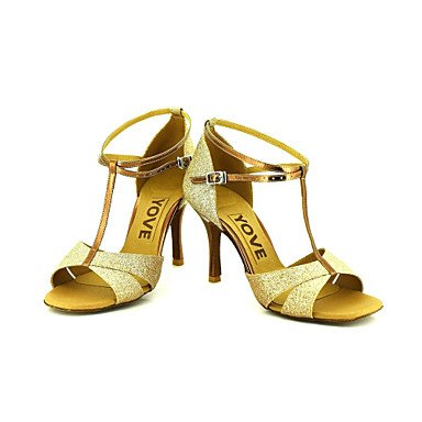 Ruhe @ Damen Beruf Dance Schuhe Blau