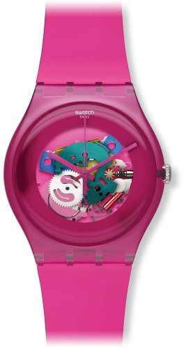 Swatch New Gent -  Pink Lacquered SUOP100